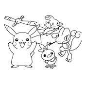 Kleurplaat Pokemon 2862