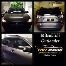 Mitsubishi Outlander Window Tinting Tint Magic