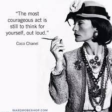 Pin by Ildiko Marton on coco chanel   Chanel quotes, Coco chanel quotes,  Fashion quotes motivation