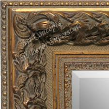 thick ornate baroque antique gold