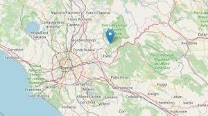 Terremoti, scossa magnitudo 3 a Marcellina, in provincia di Roma ...
