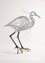 Celia Smith Sculpts Birds to Look Like Sketches | Lost in Internet