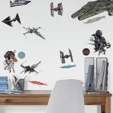 Star Wars The Rise Of Skywalker Galactic Ships Wall Decals Us Wall Decor