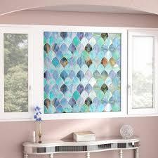 House Of Hampton Elledge Peacock Window Decal Reviews Wayfair