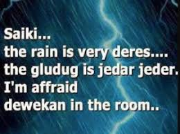 kata kata hujan lucu bahasa jawa com