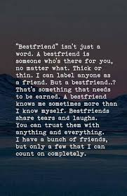 truthful friendship quotes to share your best friend after