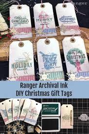 Archival Festive Christmas Tags by Bobbi Smith   Christmas gift ...