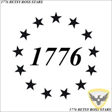 Mac Tactical Decals 1776 Betsy Ross Stars Decal