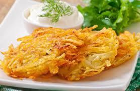 low fat potato latkes recipe