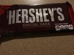 dark chocolate bar nutrition facts