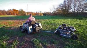 tow behind mower er s guide how to