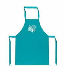 monogrammed bbq bib chef cooking as