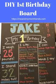 diy chalkboard birthday signs