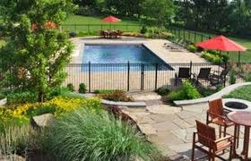 Landscaping And Ideas Landscape For Pool Area Best Plants Swimming Small Backyard Waterfalls Beach Designs Outdoor Kitchens Crismatec Com