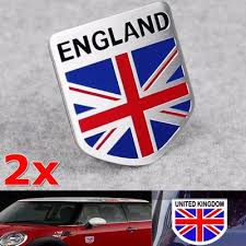 Aluminum Alloy Metal England Flag Union Jack Shield Emblem Sticker Badge For Car Motorbike Truck Buy At A Low Prices On Joom E Commerce Platform
