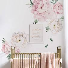 Giant Peony Peel And Stick Wall Decals Wow Just Wow Wall Sticker Outlet Design Blog