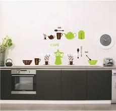 Coffee House Wall Decals Decorative Kitchen Accessories Sticker Independence