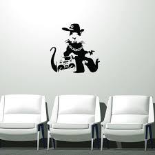 Gangsta Rat Banksy Wall Decal Banksyshop