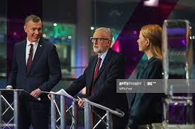 Plaid Cymru leader Adam Price, Labour leader Jeremy Corbyn and Green...  News Photo - Getty Images