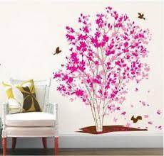 Wall Sticker Wall Decals Pink Tree Love Tattoo Wall Art Home Decor Living Room Ebay