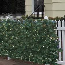 Faux Greenery Outdoor Privacy Panels Artificial Hedges Outdoor Privacy Privacy Fence Screen