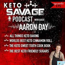 Aaron Day, founder of Fat For Weight Loss, on his new keto cookbook!   Keto  Savage