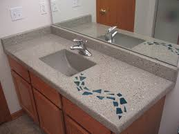 concrete countertop fills role of night