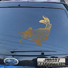 Auto Parts And Vehicles Koi Fish Japan Japanese Jdm Car Decal Sticker Agily Fr