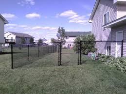 Black Vinyl Chain Link Fence Fence Ideas