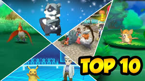 TOP 10 GAMES LIKE POKEMON FOR ANDROID AND IOS NOVEMBER 2017 ...
