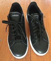 new adidas black leather men s shoes