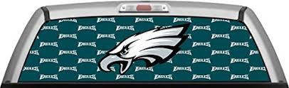 Nfl Philadelphia Eagles Stamped Green Glassview By Itigd Truck Rear Window Decal Wrap Decals Amazon Canada