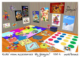 Second Life Marketplace Kids Room Accessories Clutter Toys And Books