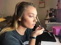bailey goughenour shares makeup talents