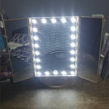 makeup mirror with lights review