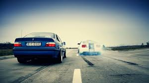 bmw cars ford mustang drag race