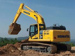 excavator model to machine control lineup