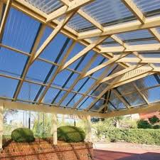 polycarbonate corrugated roof