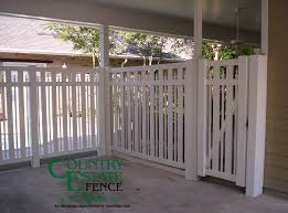 Carport Enclosures Country Estate Fence Of The South Vinyl Aluminum Fencing