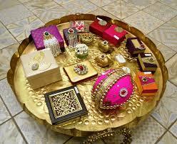 indian wedding gift basket ideas