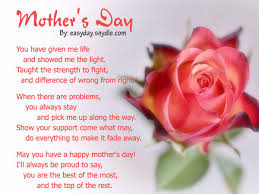 mothers day poems 2020 short funny