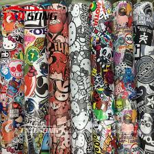 New Matt Printing Bomb Vinyl Sticker On Car Diy Graffiti Sticker Bomb Wrap Car Stickers Motorcycle Accessories Full Car Decals Buy At The Price Of 4 74 In Aliexpress Com Imall Com