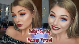 bright spring makeup tutorial first