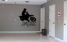 Xlarge 24 Fox Racing Mx Wall Decal Atv Racing Garage Stickers Supercross Ebay