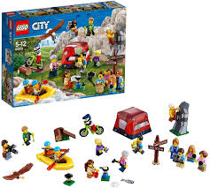 Amazon.com: LEGO City Town People Pack - Outdoor Adventures ...