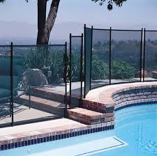 Gli Protect A Pool Safety Fence 4 X 10 Section Black 30 0410 Blk
