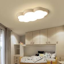 Modern Luminaire Cloud Kids Room Lighting Children Ceiling Lamp Baby Ceiling Light With Yellow Blue Red White For Boys Bedroom Ceiling Lights Aliexpress