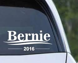 Bernie Sanders 2016 President Die Cut Vinyl Decal Sticker Texas Die Cuts