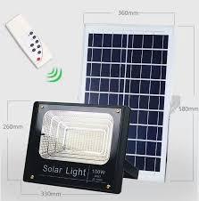 led light garden spot lights solar