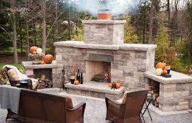 outdoor patio fireplace design gallery